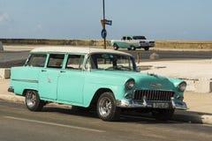 Εκλεκτής ποιότητας δεκαετία του '50 Αβάνα Chevrolet Handyman Στοκ φωτογραφίες με δικαίωμα ελεύθερης χρήσης