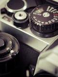Εκλεκτής ποιότητας εξόγκωμα ταχύτητας παραθυρόφυλλων καμερών Στοκ φωτογραφία με δικαίωμα ελεύθερης χρήσης