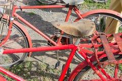 Εκλεκτής ποιότητας λεπτομέρεια ποδηλάτων Στοκ Φωτογραφία