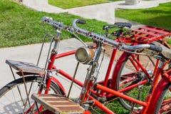 Εκλεκτής ποιότητας λεπτομέρεια ποδηλάτων Στοκ φωτογραφίες με δικαίωμα ελεύθερης χρήσης