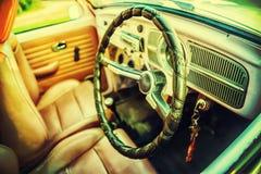 Εκλεκτής ποιότητας εσωτερικό αυτοκινήτων Στοκ Εικόνα