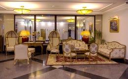 Εκλεκτής ποιότητας εσωτερικό ξενοδοχείων στην παλαιά πόλη Ρήγα Στοκ Εικόνες