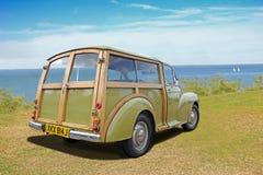 Εκλεκτής ποιότητας δευτερεύον αυτοκίνητο morris woodie Στοκ Εικόνες