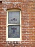 Εκλεκτής ποιότητας ελαφρύ παράθυρο μολύβδου στοκ εικόνα