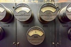 Εκλεκτής ποιότητας ηλεκτρικός εξοπλισμός Στοκ φωτογραφία με δικαίωμα ελεύθερης χρήσης