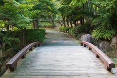 εκλεκτής ποιότητας διάβαση πεζών ύφους φωτογραφιών πάρκων εικόνας Στοκ φωτογραφίες με δικαίωμα ελεύθερης χρήσης
