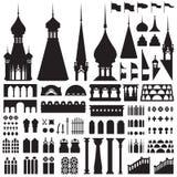 Εκλεκτής ποιότητας διάνυσμα του Castle Στοκ Εικόνα