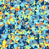 Εκλεκτής ποιότητας διάνυσμα υποβάθρου σχεδίων Hipster άνευ ραφής γεωμετρικό Στοκ Φωτογραφία