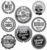 Εκλεκτής ποιότητας διακριτικά μαύρο λευκό καλύτερη ποιότητα εξαιρετική ποιότητα Στοκ Εικόνα