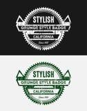 Εκλεκτής ποιότητας διακριτικά λογότυπων Grunge Στοκ φωτογραφία με δικαίωμα ελεύθερης χρήσης