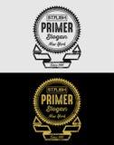 Εκλεκτής ποιότητας διακριτικά λογότυπων Grunge Στοκ Εικόνες