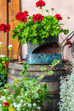 Εκλεκτής ποιότητας διακόσμηση κήπων Στοκ φωτογραφία με δικαίωμα ελεύθερης χρήσης