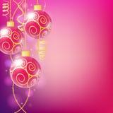 Εκλεκτής ποιότητας διανυσματική κάρτα Χριστουγέννων απεικόνιση αποθεμάτων
