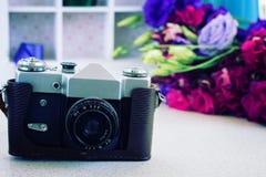 Εκλεκτής ποιότητας κάμερα φωτογραφιών Στοκ εικόνες με δικαίωμα ελεύθερης χρήσης