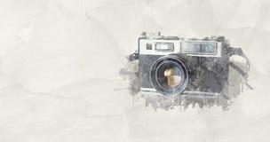 Εκλεκτής ποιότητας κάμερα Slr φωτογραφίας Στοκ Εικόνες