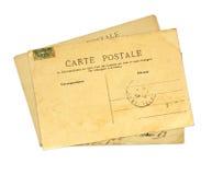 Εκλεκτής ποιότητας κάρτες Στοκ Εικόνα