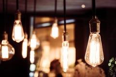 Εκλεκτής ποιότητας και αναδρομική λάμπα φωτός στοκ εικόνες