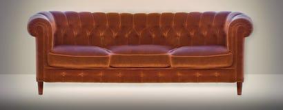 Εκλεκτής ποιότητας καναπές Στοκ Φωτογραφίες