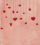 Εκλεκτής ποιότητας καρδιές Στοκ εικόνα με δικαίωμα ελεύθερης χρήσης