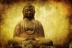 Αριθμός του Βούδα με την ελκυστική σύσταση Στοκ Φωτογραφία