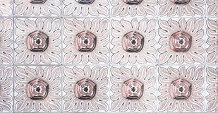Εκλεκτής ποιότητας κεραμικό κεραμίδι Στοκ εικόνα με δικαίωμα ελεύθερης χρήσης