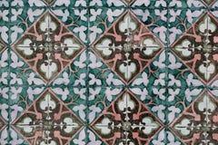 Εκλεκτής ποιότητας κεραμικό κεραμίδι Στοκ εικόνες με δικαίωμα ελεύθερης χρήσης