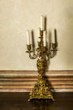 Εκλεκτής ποιότητας κηροπήγια στην Ιταλία Στοκ εικόνα με δικαίωμα ελεύθερης χρήσης