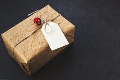 Εκλεκτής ποιότητας κιβώτιο δώρων Στοκ φωτογραφίες με δικαίωμα ελεύθερης χρήσης