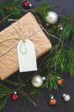 Εκλεκτής ποιότητας κιβώτιο δώρων Στοκ Εικόνες
