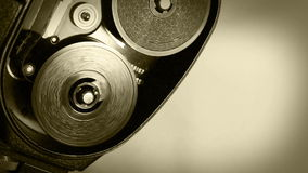 Εκλεκτής ποιότητας κινηματογράφων καμερών επίδραση ταινιών μηχανισμών παλαιά απόθεμα βίντεο
