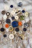 Εκλεκτής ποιότητας κουμπί Στοκ φωτογραφίες με δικαίωμα ελεύθερης χρήσης