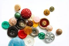 Εκλεκτής ποιότητας κουμπιά Στοκ εικόνα με δικαίωμα ελεύθερης χρήσης