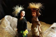 Εκλεκτής ποιότητας κούκλα Στοκ Εικόνες