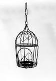 Εκλεκτής ποιότητας κρεμώντας φανάρι κλουβιών πουλιών Στοκ εικόνα με δικαίωμα ελεύθερης χρήσης
