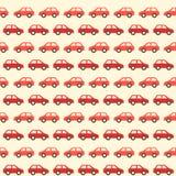 Εκλεκτής ποιότητας κόκκινο σχέδιο αυτοκινήτων Στοκ Φωτογραφίες