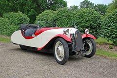 Εκλεκτής ποιότητας κλασικό αυτοκίνητο του Morgan F2 στοκ εικόνες