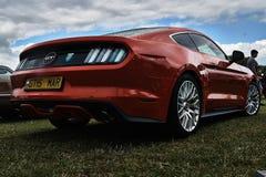 Εκλεκτής ποιότητας κλασικό γεγονός αυτοκινήτων της Ford Στοκ φωτογραφία με δικαίωμα ελεύθερης χρήσης