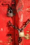 Εκλεκτής ποιότητας κλειδαριά Στοκ Εικόνα