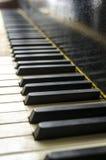 Εκλεκτής ποιότητας κλειδιά πιάνων Στοκ Εικόνες