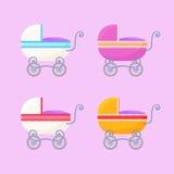 Εκλεκτής ποιότητας μεταφορές μωρών Στοκ Εικόνες