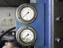 Εκλεκτής ποιότητας μετρητής πίεσης Στοκ Εικόνες