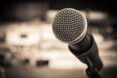 Εκλεκτής ποιότητας μικρόφωνο Στοκ εικόνες με δικαίωμα ελεύθερης χρήσης