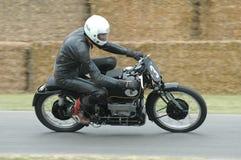 Εκλεκτής ποιότητας μοτοσικλέτα αγώνα Velocette ` Roarer ` Στοκ Εικόνες