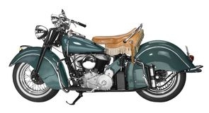 Εκλεκτής ποιότητας μοτοσικλέτα Στοκ Εικόνα
