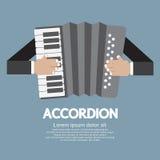 Εκλεκτής ποιότητας μουσικό ακκορντέον οργάνων Στοκ εικόνα με δικαίωμα ελεύθερης χρήσης