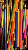 Εκλεκτής ποιότητας μολύβια Στοκ Εικόνα