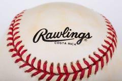 Εκλεκτής ποιότητας μπέιζ-μπώλ Rawlings jpg Στοκ Εικόνες
