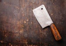 Εκλεκτής ποιότητας μπαλτάς κρέατος στοκ φωτογραφία με δικαίωμα ελεύθερης χρήσης
