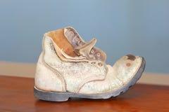 Εκλεκτής ποιότητας μπότα εργαζομένων ορυχείων, Kolmanskoppe, Ναμίμπια Στοκ εικόνα με δικαίωμα ελεύθερης χρήσης