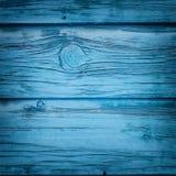 Εκλεκτής ποιότητας μπλε ξύλινο υπόβαθρο Στοκ εικόνα με δικαίωμα ελεύθερης χρήσης